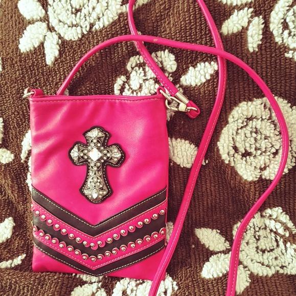 983f00c88e American Bling cross body purse NWT